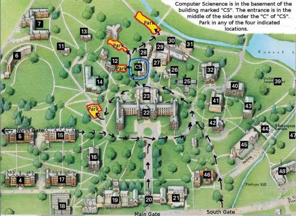 Vassar College Map Compressportnederland
