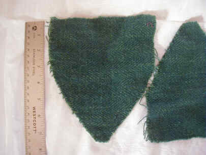 pattern piece in green wool 1cd59e318dd